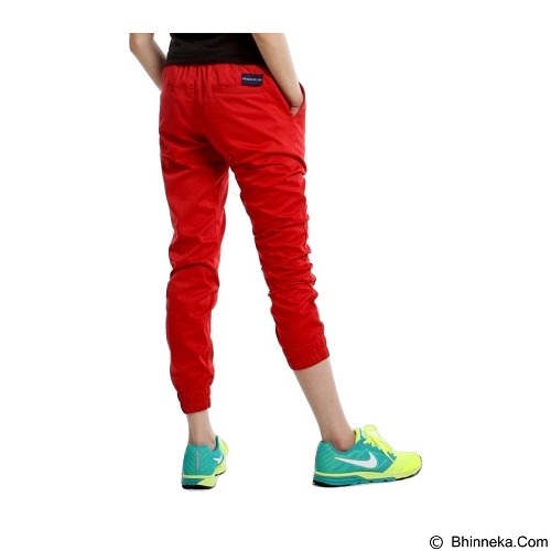 APPAREL LAB Jogger Basic Size M - Red (Merchant) - Celana Panjang Wanita