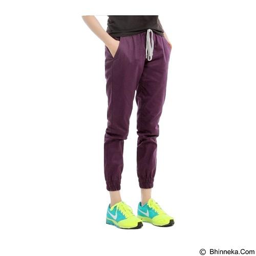 APPAREL LAB Jogger Basic Size M - Violet (Merchant) - Celana Panjang Pria