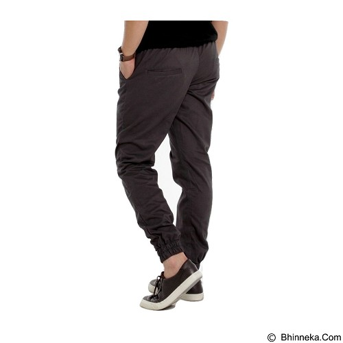 APPAREL LAB Jogger Basic Size S - Dark Grey (Merchant) - Celana Panjang Pria