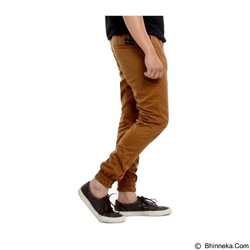 APPAREL LAB Jogger Basic Size S - Gold Brown (Merchant) - Celana Panjang Pria