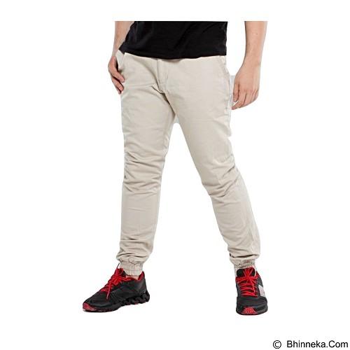 APPAREL LAB Jogger Basic Size XL - Cream (Merchant) - Celana Panjang Pria