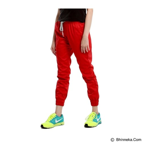 APPAREL LAB Jogger Basic Size XL - Red (Merchant) - Celana Panjang Wanita