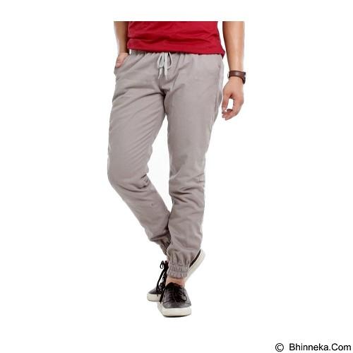 APPAREL LAB Jogger Basic Size XL - Silver Grey (Merchant) - Celana Panjang Pria
