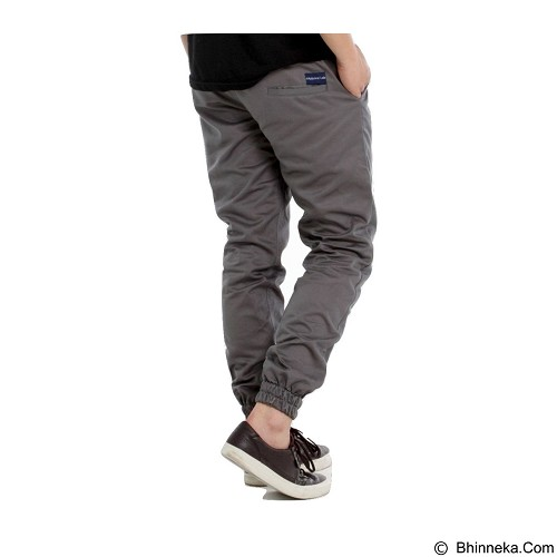APPAREL LAB Jogger Basic Size XL - Stone Grey (Merchant) - Celana Panjang Pria