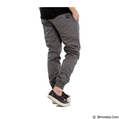 APPAREL LAB Jogger Basic Size XL - Stone Grey (Merchant) - Celana Panjang Pria