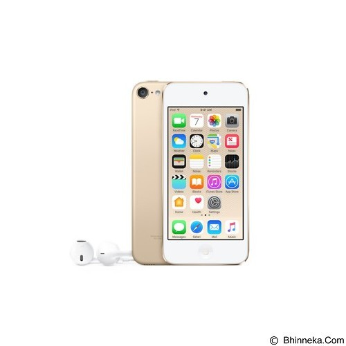 APPLE iPod Touch 64GB 6th Gen - Gold  (Merchant) - Mp3 Players