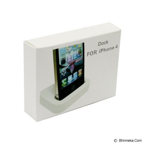 GFGADGET Charging Dock 30 Pin for iPhone 4 - Black (Merchant) - Gadget Docking
