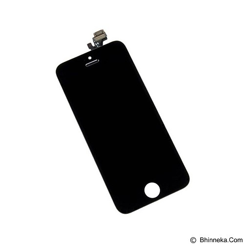 APPLE LCD Screen Replacement for iPhone 5 - Black (Merchant) - Modif Spare Part