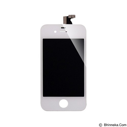 APPLE LCD for iPhone 4 - White (Merchant) - Modif Spare Part