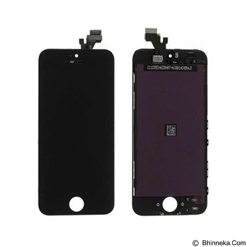 APPLE LCD for iPhone 5S - Black (Merchant) - Modif Spare Part