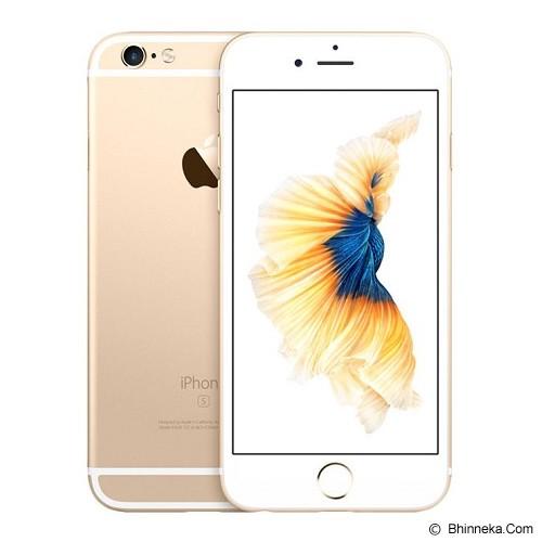 APPLE iPhone 6s Plus 128GB - Gold (Merchant) - Smart Phone Apple Iphone