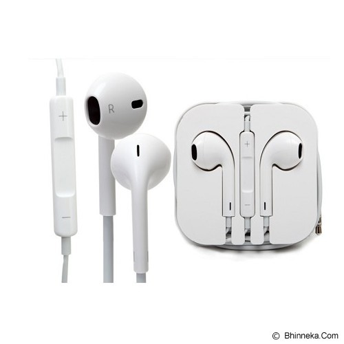 APPLE Original Earpods for iPhone/iPad/iPod (Merchant) - Earphone Ear Bud