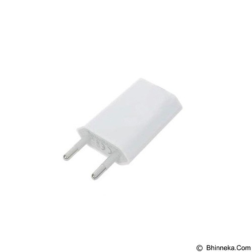 APPLE USB Adaptor Charger iPhone (Merchant) - Charger Handphone