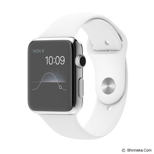 APPLE Watch 38mm Aluminium Case White Sport Band - Smart Watches