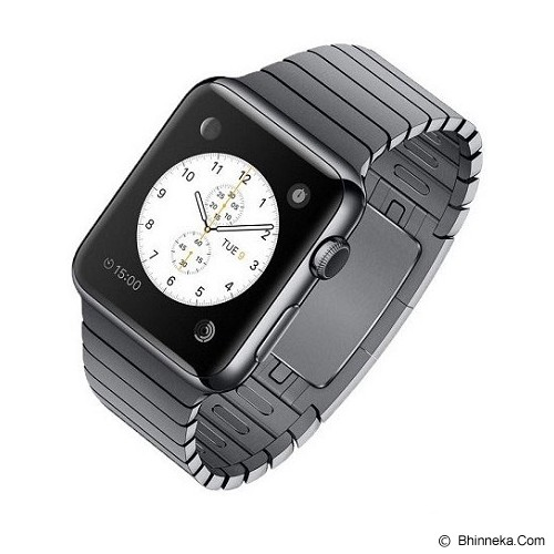 APPLE Watch 38mm Stainless Steel Case With Space Dark Link Bracelet - Smart Watches