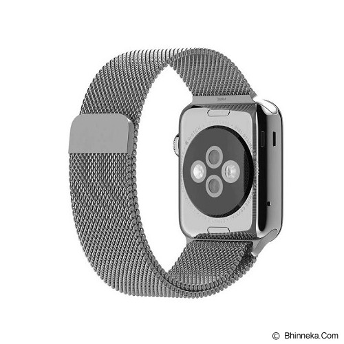 APPLE Watch 38mm Stainless Steel Case with Milanesse Loop - Smart Watches
