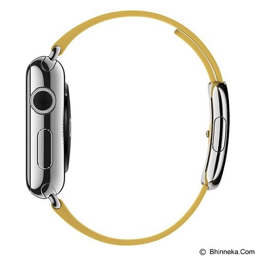 APPLE Watch 38mm Stainless Steel Modern Buckle Band Medium [MMFF2ID/A] - Marigold - Smart Watches