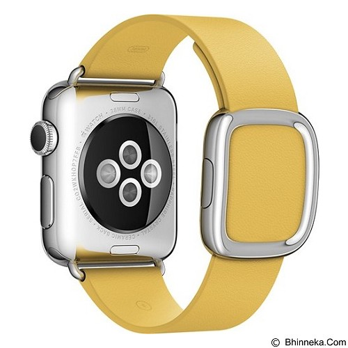 APPLE Watch 38mm Stainless Steel Modern Buckle Band Small [MMFD2ID/A] - Marigold - Smart Watches