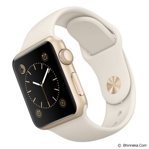 APPLE Watch Alumunium Sport 38mm - Gold/White - Smart Watches
