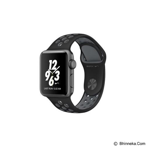 APPLE Watch Nike+ 42mm Aluminium Sport [MNYY2] - Black Grey (Merchant) - Smart Watches