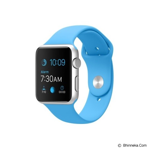 APPLE Watch Sport Aluminum 38mm - Silver/Blue (Merchant) - Smart Watches