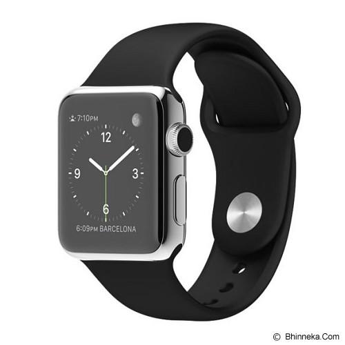 APPLE Watch Stainless Steel Sport 38mm - Grey/Black - Smart Watches