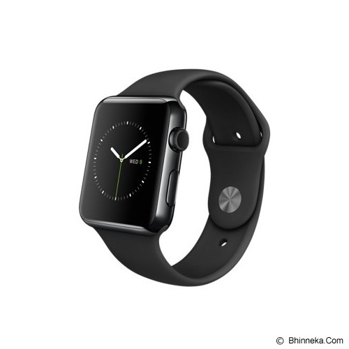 APPLE Watch Stainless Steel Sport 42mm - Silver/Black - Smart Watches