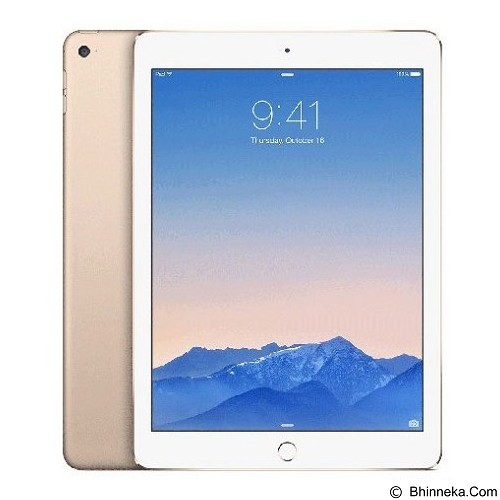 APPLE iPad Air 2 Wifi + Cell 16GB - Gold (Merchant) - Tablet Ios