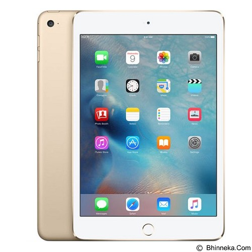 APPLE iPad Mini 4 64GB Wifi + Cell - Gold (Merchant) - Tablet Ios