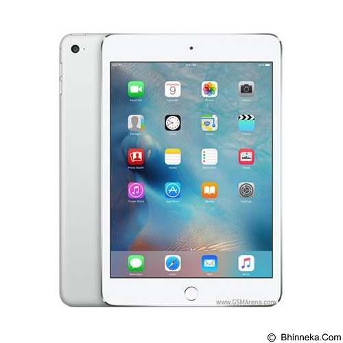 APPLE iPad Mini 4 Wifi 16GB - Silver (Merchant) - Tablet Ios