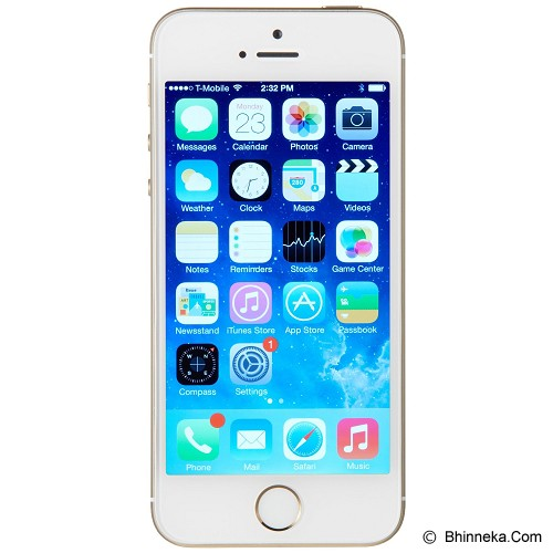 APPLE iPhone 5S 16GB - Gold (Merchant) - Smart Phone Apple iPhone