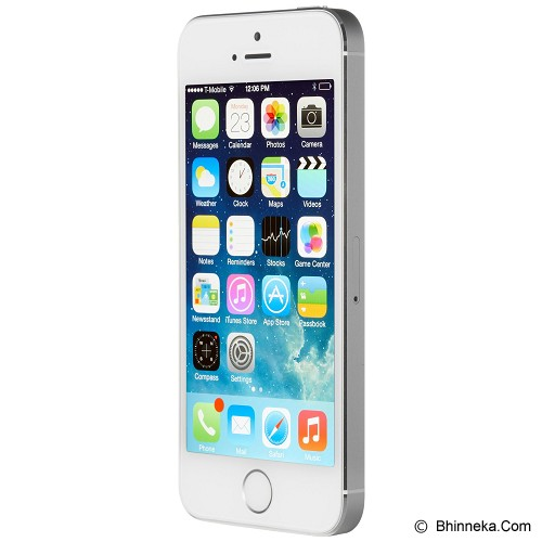 APPLE iPhone 5S 16GB - Silver (Merchant) - Smart Phone Apple Iphone
