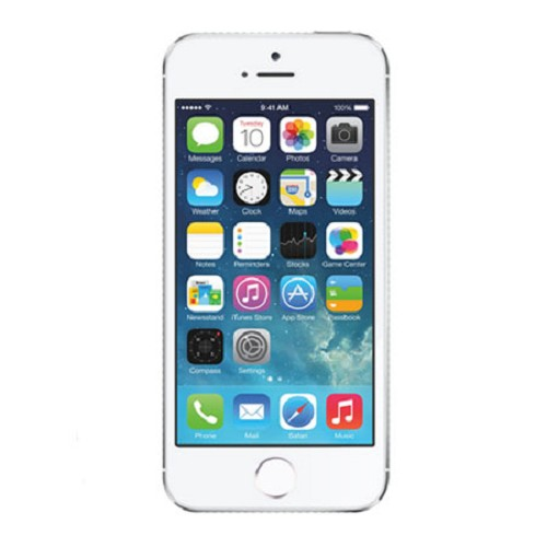 APPLE iPhone 5S 16GB - Silver - Smart Phone Apple Iphone
