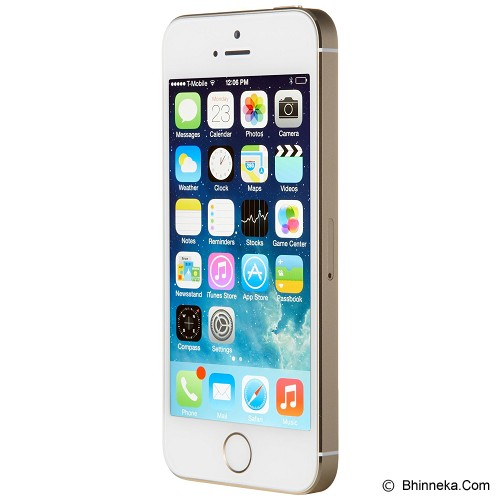 APPLE iPhone 5S 64GB (Garansi Merchant) - Gold - Smart Phone Apple iPhone