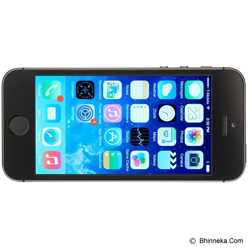 APPLE iPhone 5S 64GB (Garansi Merchant) - Grey - Smart Phone Apple Iphone
