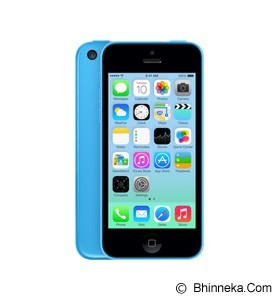 APPLE iPhone 5c 32GB - Blue (Merchant) - Smart Phone Apple Iphone