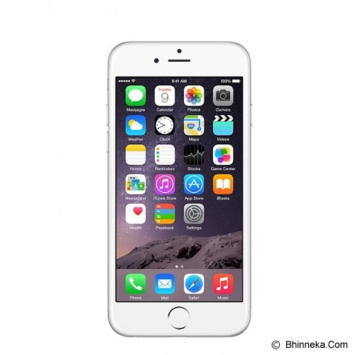 APPLE iPhone 6 64GB - Silver (Merchant) - Smart Phone Apple Iphone