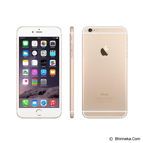 APPLE iPhone 6 Plus 128GB - Gold (Merchant) - Smart Phone Apple Iphone