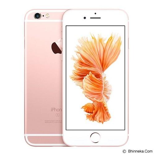 APPLE iPhone 6s 128GB - Rose Gold (Merchant) - Smart Phone Apple Iphone