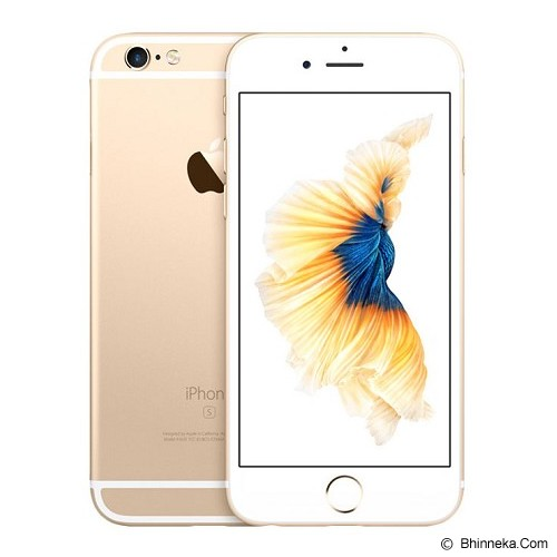 APPLE iPhone 6s 16GB - Gold (Merchant) - Smart Phone Apple Iphone