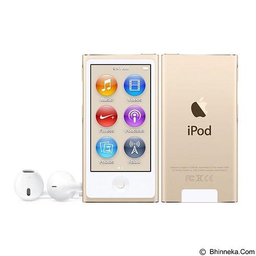 APPLE iPod Nano 7 16GB - Gold (Merchant) - Mp3 Players