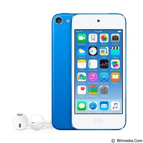 APPLE iPod Touch 16GB 6th Gen - Blue (Merchant) - Mp3 Players