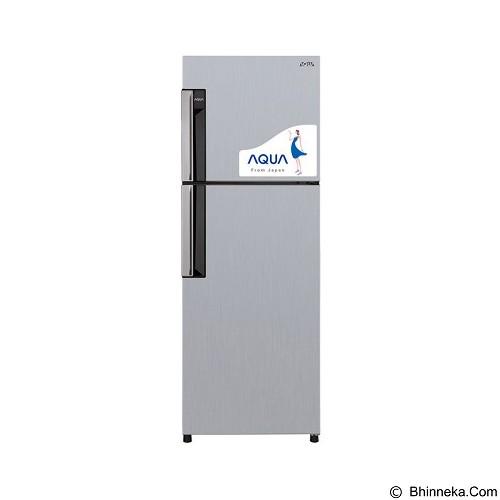 AQUA Kulkas 2 Pintu [AQR-D259(S)] (Merchant) - Kulkas 2 Pintu