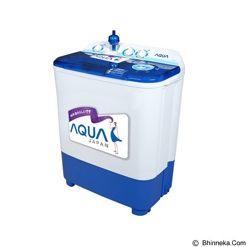 AQUA Mesin Cuci Twin Tub [QW-740XT] (Merchant) - Mesin Cuci Twin Tub