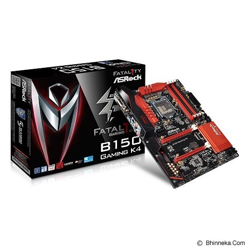 ASROCK Motherboard Socket LGA1151 [B150 Gaming K4] (Merchant) - Motherboard Intel Socket Lga1151