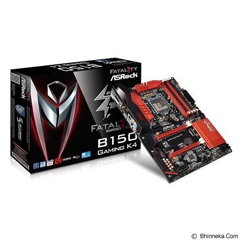 ASROCK Motherboard Socket LGA1151 [B150 Gaming K4] (Merchant) - Motherboard Intel Socket Lga1151