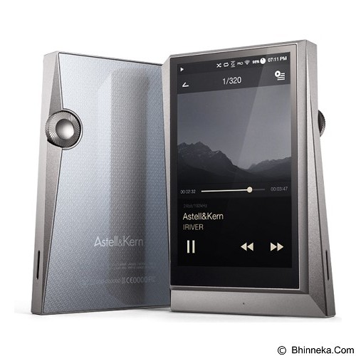 ASTELL & KERN MP3 Player [AK 320] - Gun Metal - MP3 Players