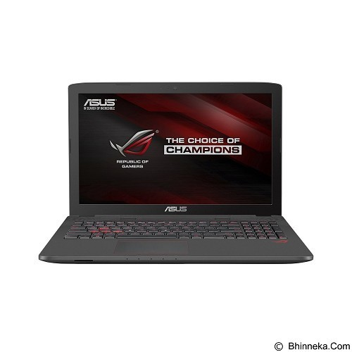 ASUS ROG GL752VW-T4146T -  Black (Merchant) - Notebook / Laptop Gaming Intel Core I7