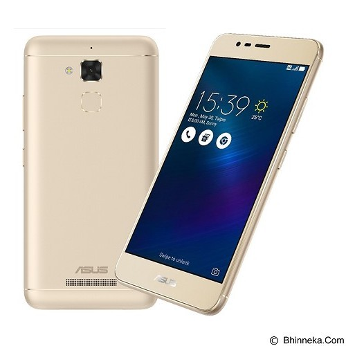 ASUS Zenfone 3 Max (16GB/2GB RAM) [ZC520TL] - Gold (Merchant) - Smart Phone Android
