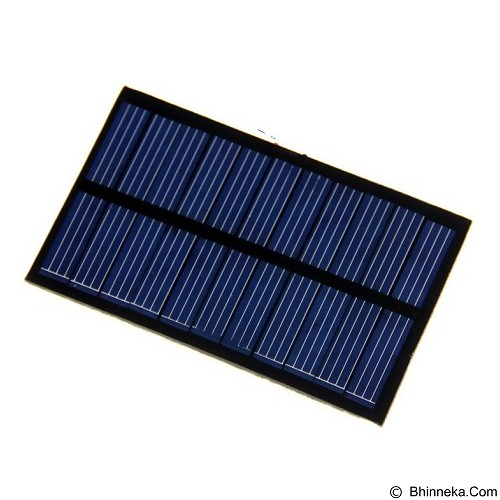 ASUS DIY Mini Solar Panel for Smartphone & Powerbank - 5V 1.1W [220MA] - Black - Portable Charger / Power Bank